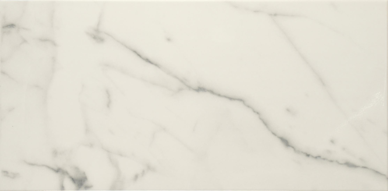 Nilo White 25x50 cm Wall Tile