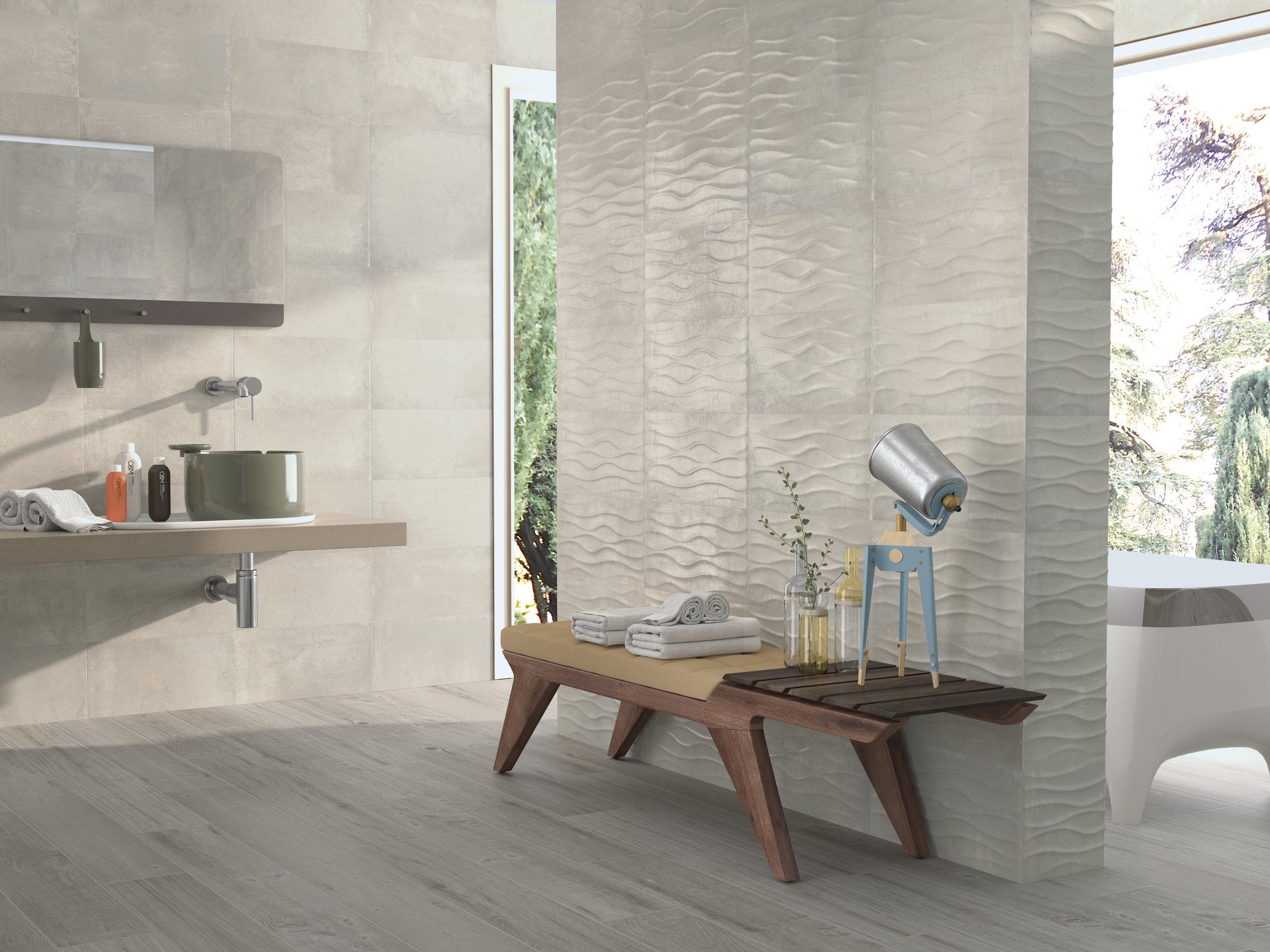 Tivoli Light Grey/Tiara Light Grey 25x50 cm