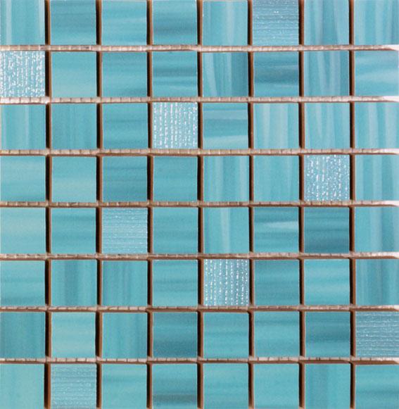 Funny Mosaic Turquesa 20x20 cm  Wall tile / Red Body / Brillo / V2