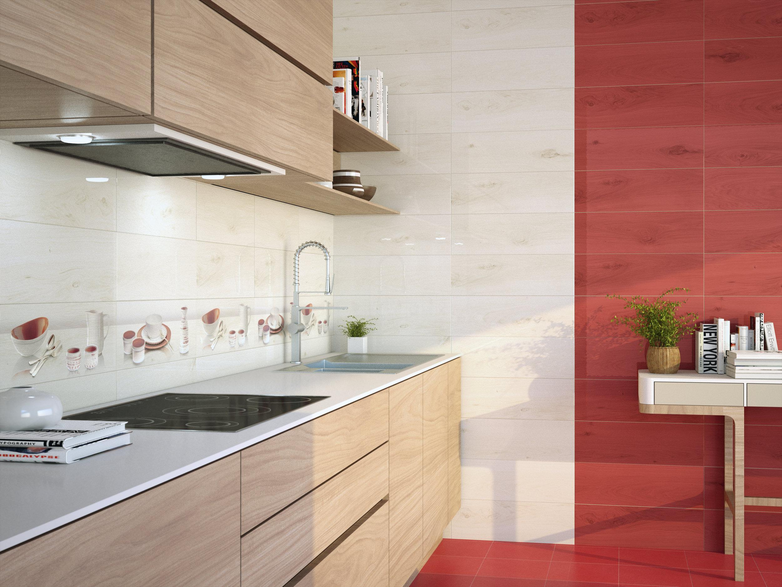 Vernis Blanco/Vernis Rojo 20x60 cm
