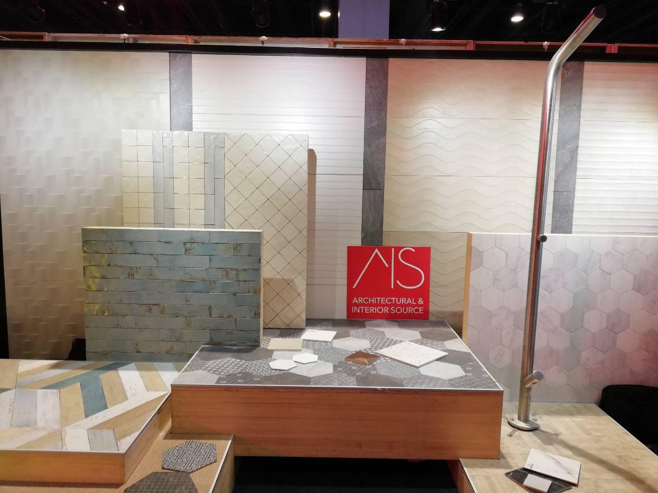 Architectural & Interior Source booth at ID Show 2018