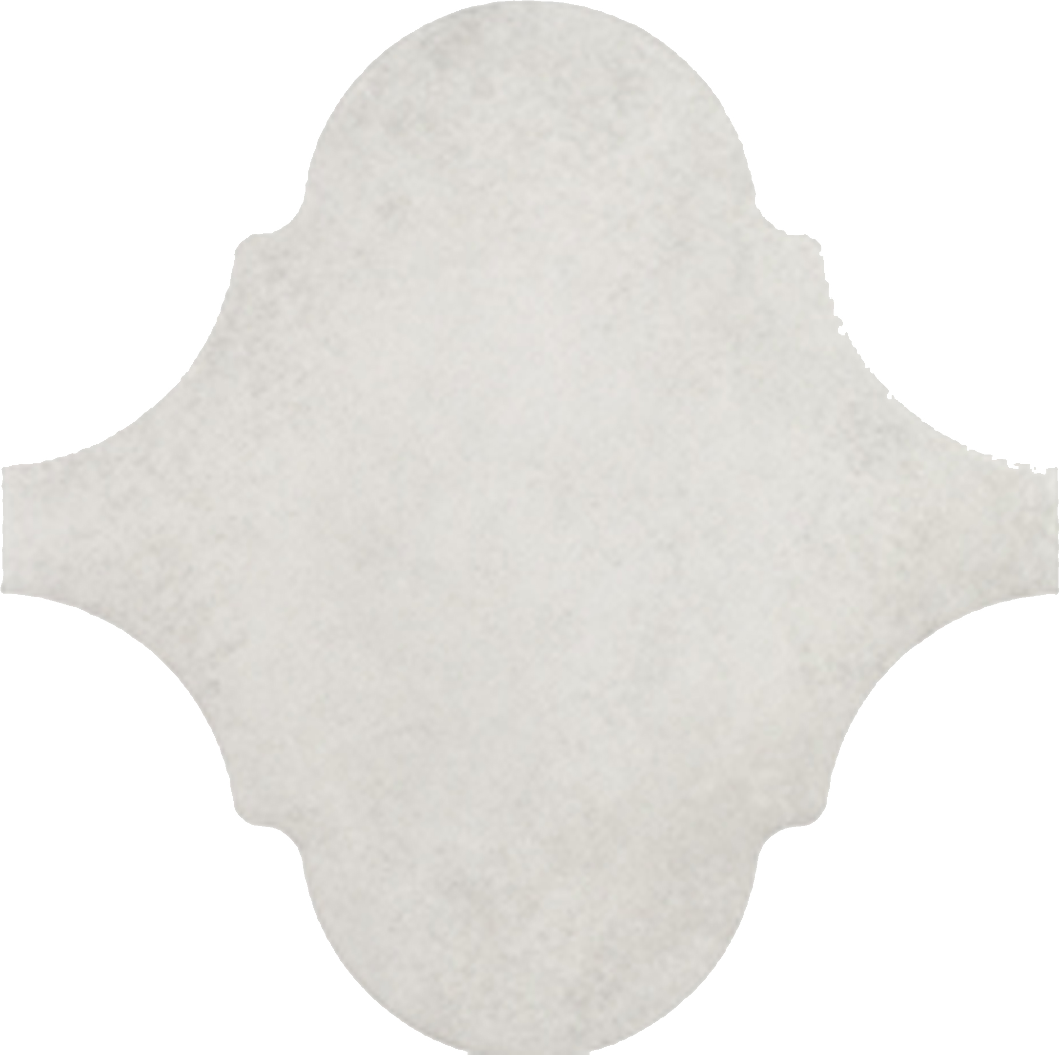 Curvytile Factory White 26.5x26.5 cm