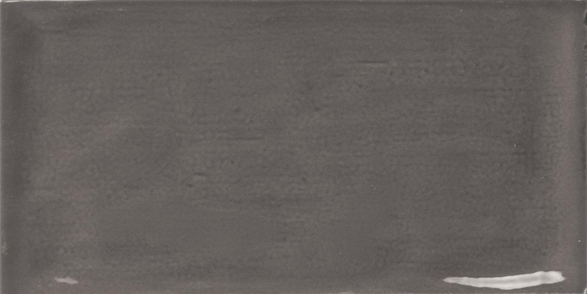 Piemonte Graphite 7.5x15 cm  Wall tile/ Red Body / Brillo