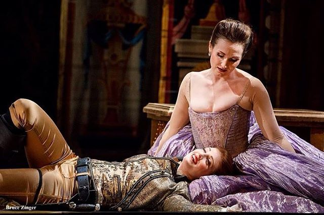What a joy to sing Ilia in @operaatelier's Idomeneo. Running now until April 13 at the Ed Mirvish Theatre.⁣⁣ ⁣⁣ This cast is fab @wallis.giunta @colinainsworth_tenor @meashabg @dooglaaswilliams. ⁣⁣ ⁣⁣ 📷@brucezinger⁣⁣ ⁣⁣ #operanews #canadianopera #operacanada #operaatelier #idomeneo