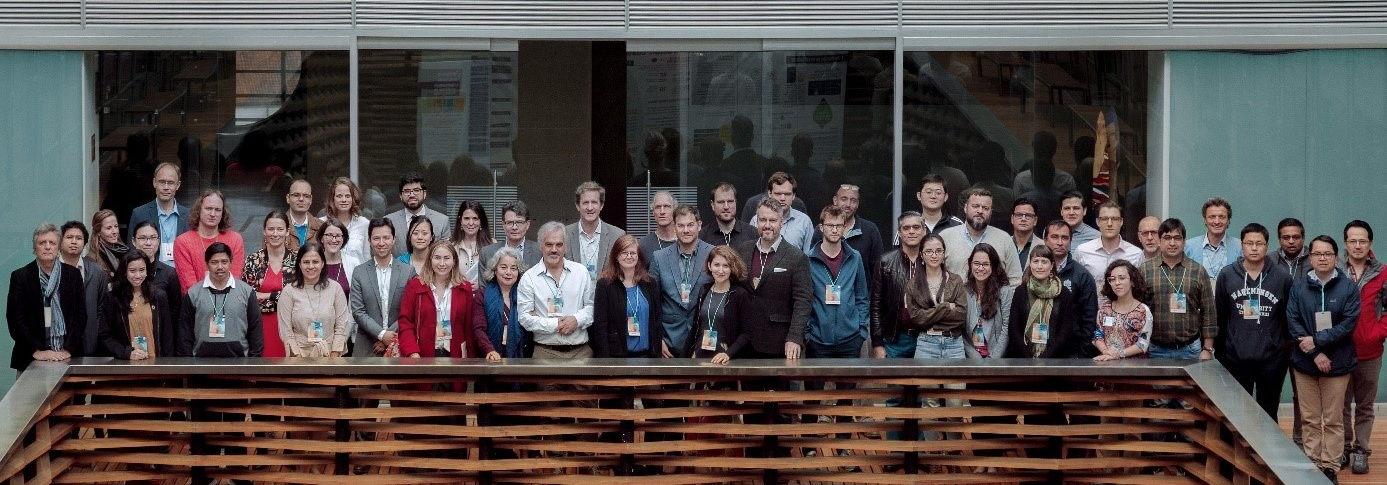 FABLE Consortium meeting participants (4-7 June 2019 in Bogota). Photo: courtesy of the    Centro de los Objetivos de Desarrollo Sostenible para América Latina y el Caribe    (CODS)
