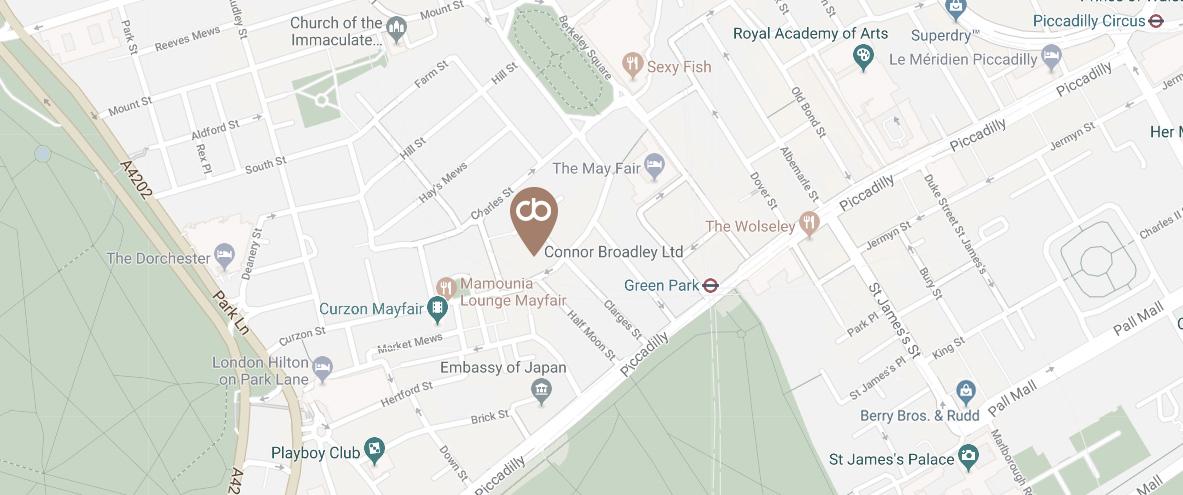 Connor Broadley Location Map