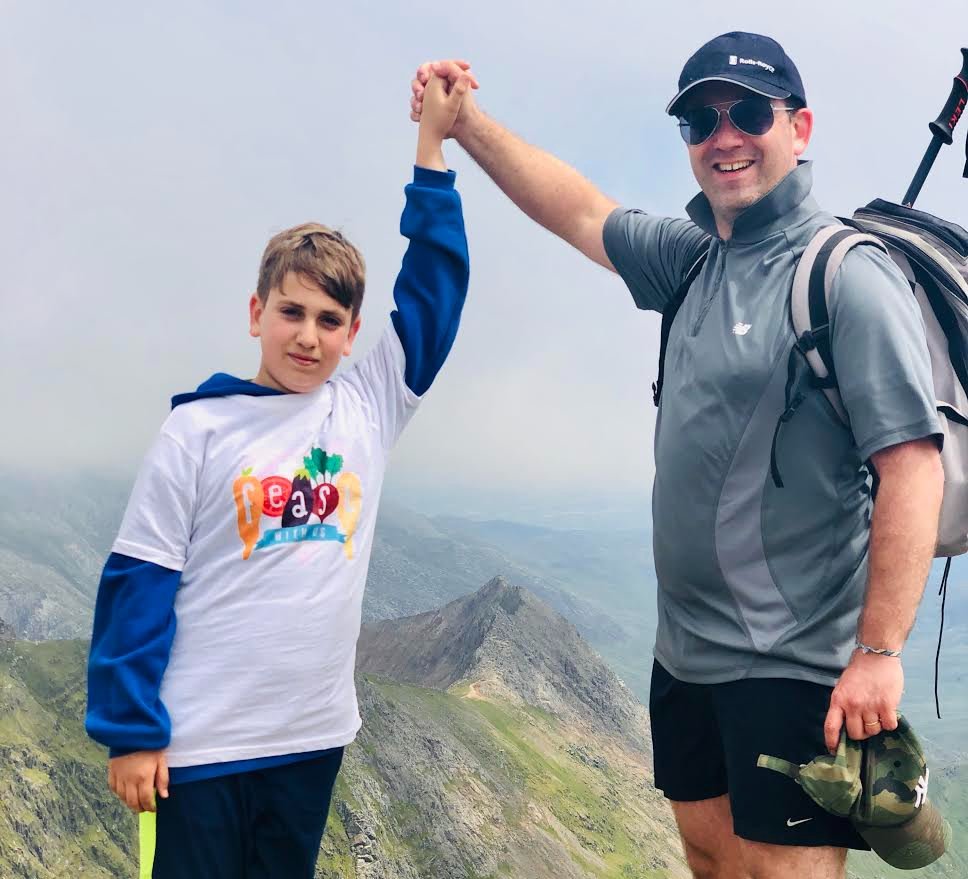 ELI's Climb for FEAST! - Eli has made it to the Top of Mount Snowdon and raised an incredible £1200 for FEAST! Thank you so much Eli - What an inspirational journey. Visit his wonderful page here.