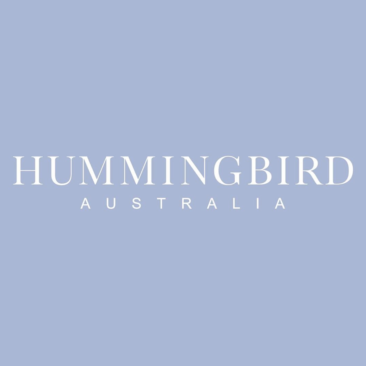 HUMMINGBIRD/FASHION DESIGN