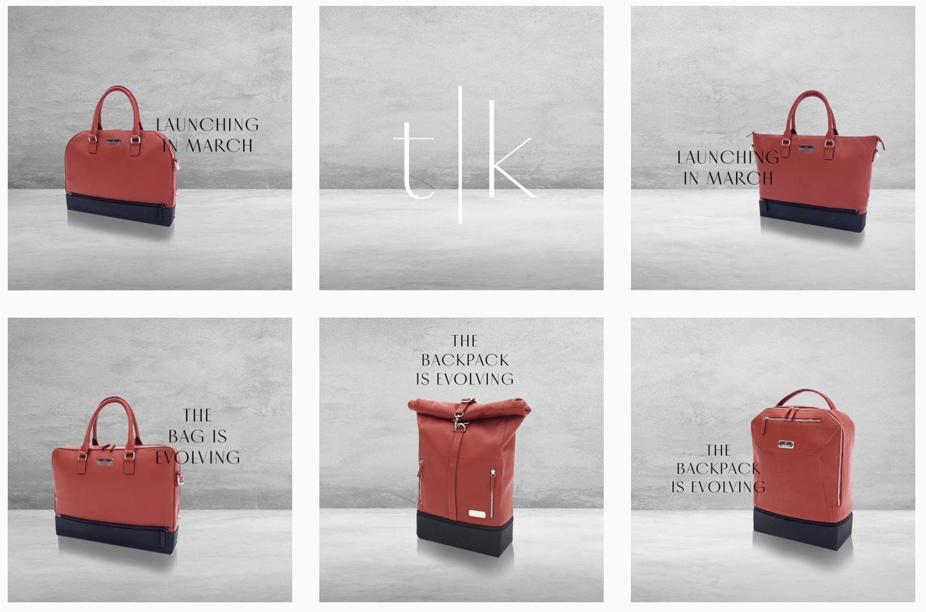 We are t|K (Norway) - Back pack & Handbag Design