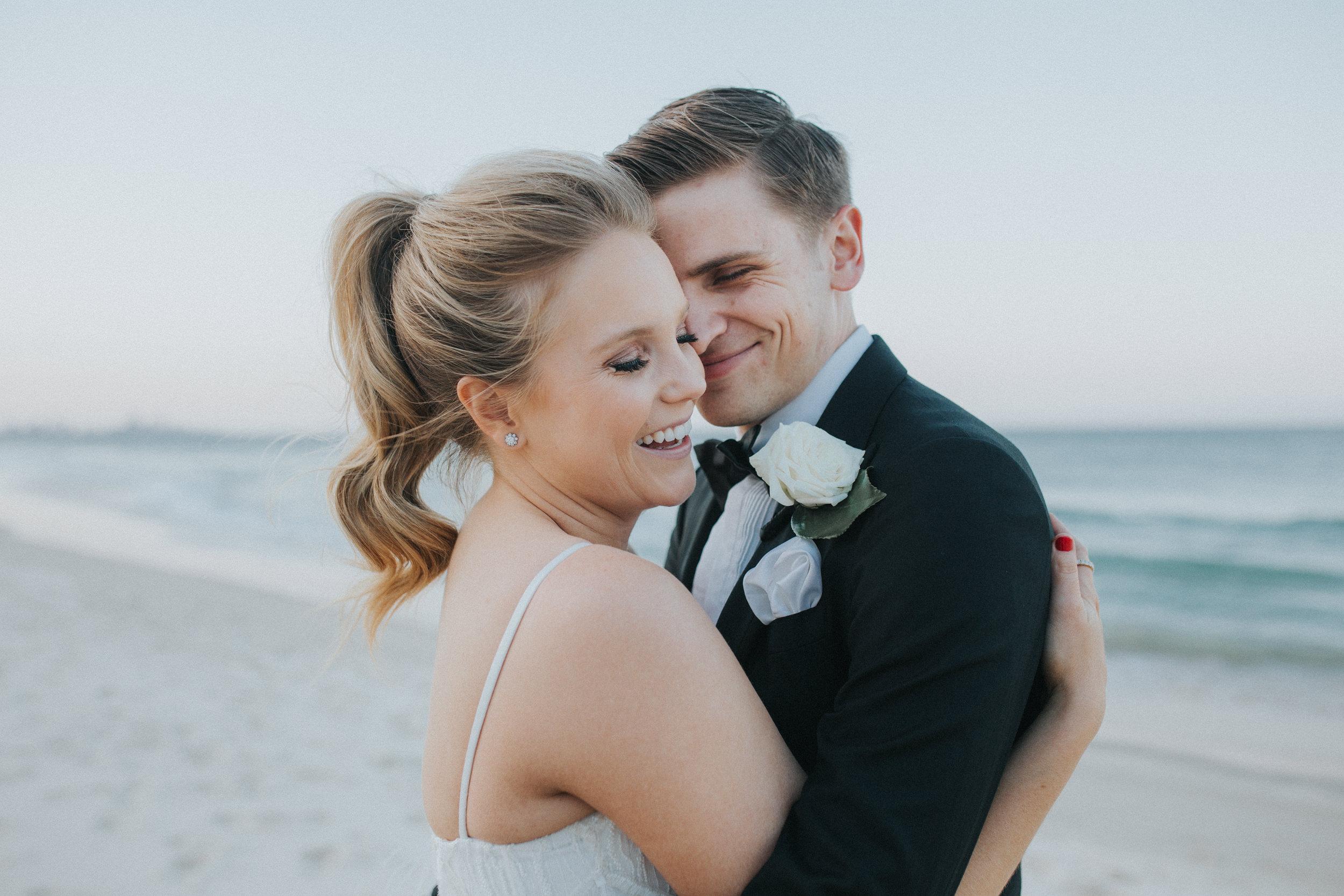 Natalie + Jake - Burleigh heads wedding