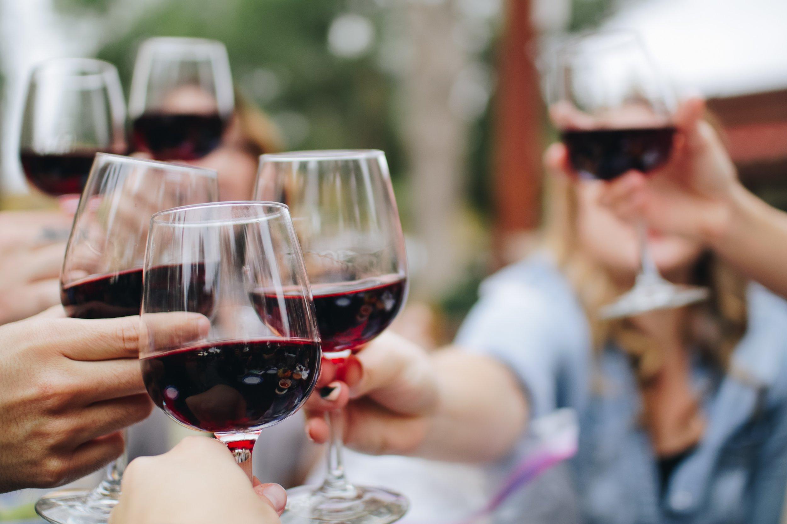 Die Weinprobe -