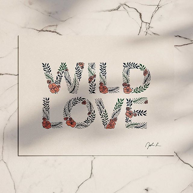 There is Peaceful There is Wild I am both at the same time.  #wildlove #goodtype #handlettered