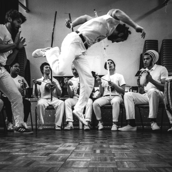 Capoeira with Mao No Chao