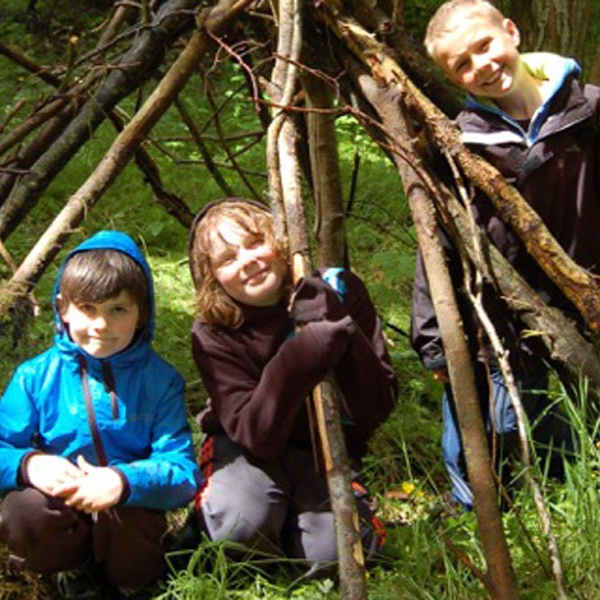 Shelter-making & outdoor craft