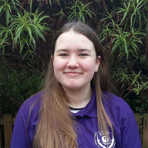 JESS TELFER - NESSIE KEY WORKERACTIVITY LEADERJess Telfer is our youngest Highland Fling staff member and is a product of our Modern Apprenticeship Programme. Coming from a big family herself, Jess brings all the caring qualities that are an ideal fit with our Highland Fling ethos.