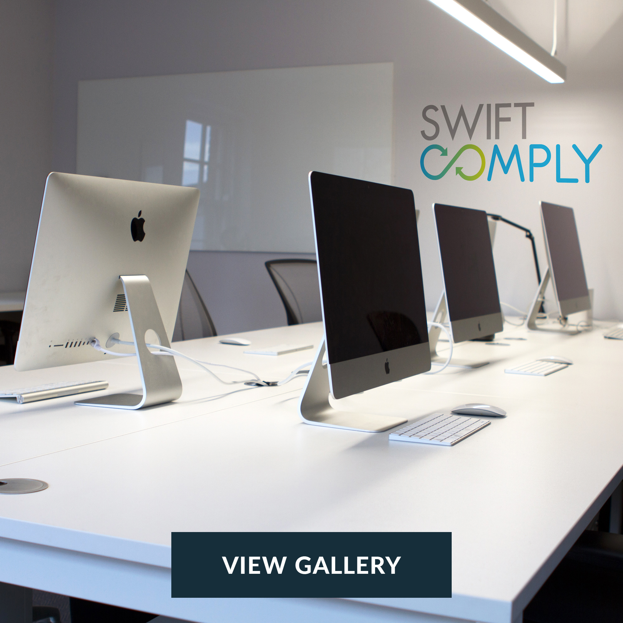 Swift Comply   Our fast track office fit out for Swift comply including glazed partitions, raised access flooring, bespoke joinery, feature ceilings, fire and acoustic rated partitions. This fit out was completed in a multi-tenanted building without disruption to the building users.