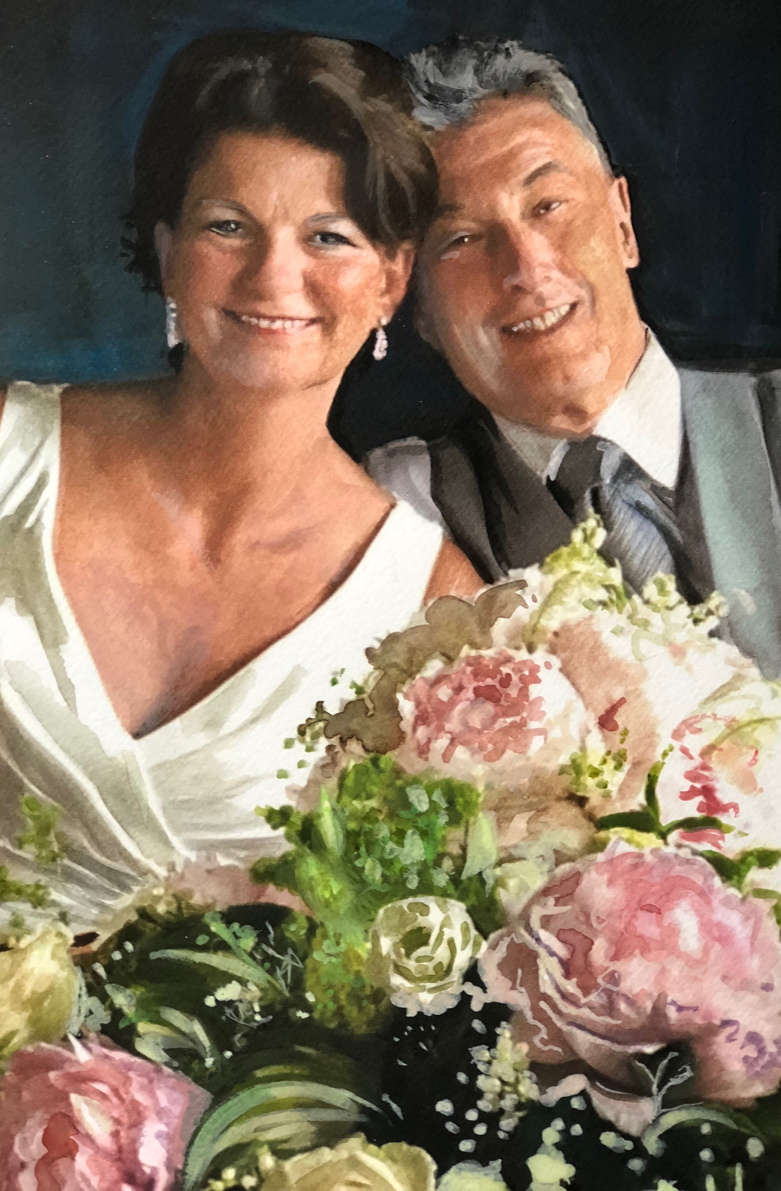 Wedding Day celebrations...