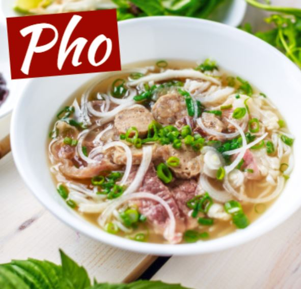 Traditional beef noodle soup - vietnamese beef noodle soup (pho)
