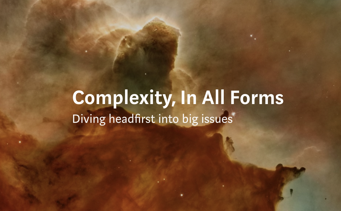 navigating our complex environments - Imagine if we stepped away from our personal silo's and mindsets and looked at the way we operate, organise and work completely differently. It excites me to see that this is exactly what is starting to happen. Read On -