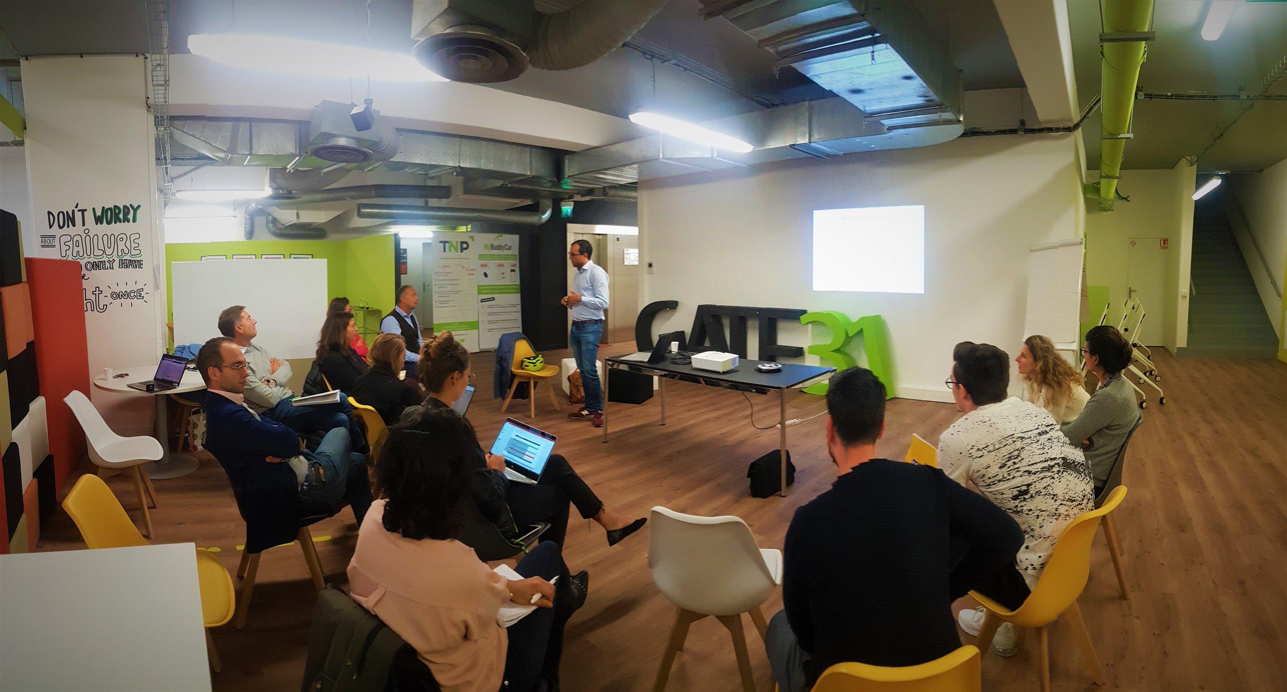 Atelier référencement Google avec Simblébo dans Gate 31