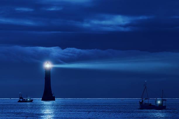 Il Faro guida la nave verso casa.