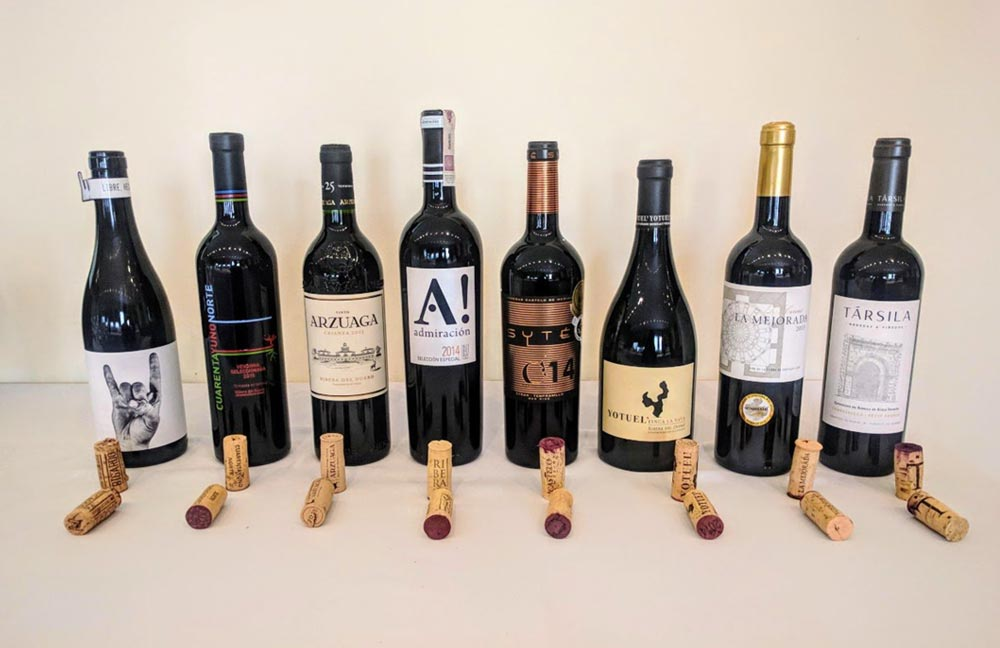 Társila 12 Months selected between the 8 most cutting-edge wines of Castilla y León