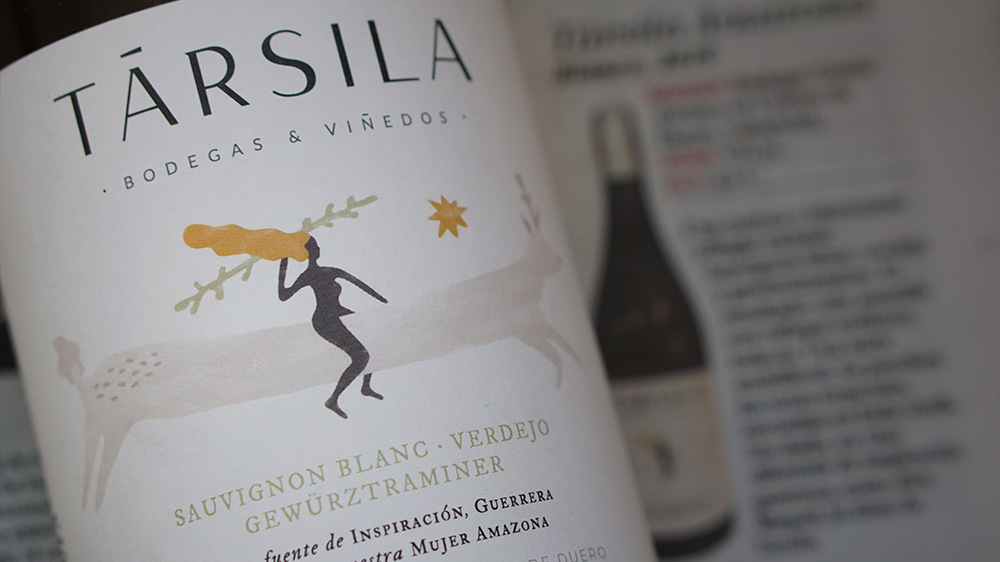 Társila Amazona Tierra highlighted in the wine supplement of the Spanish newspaper El Mundo