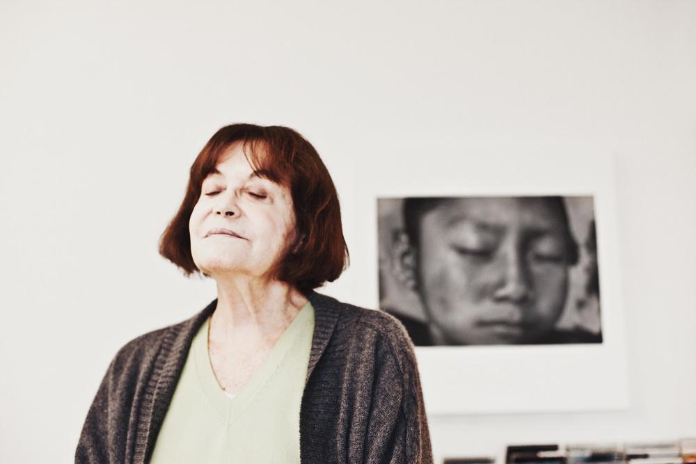 Claudia Andujar, 2014 / Imagem por Pedrinho Fonseca Site Pedrinho Fonseca