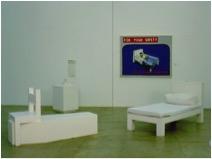 For your safety, instalação mix media, 1991, Coleção Museu de Arte Contemporânea de São Paulo MAC / Imagem por Fabiana de Barros