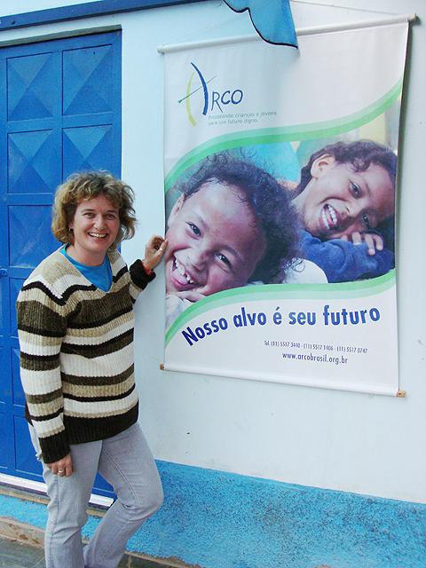 Heidi Caluori, 2011/ Imagem por Katiane Rodrigues Mural, Blog dos correspondentes comunitários da Grande São Paulo
