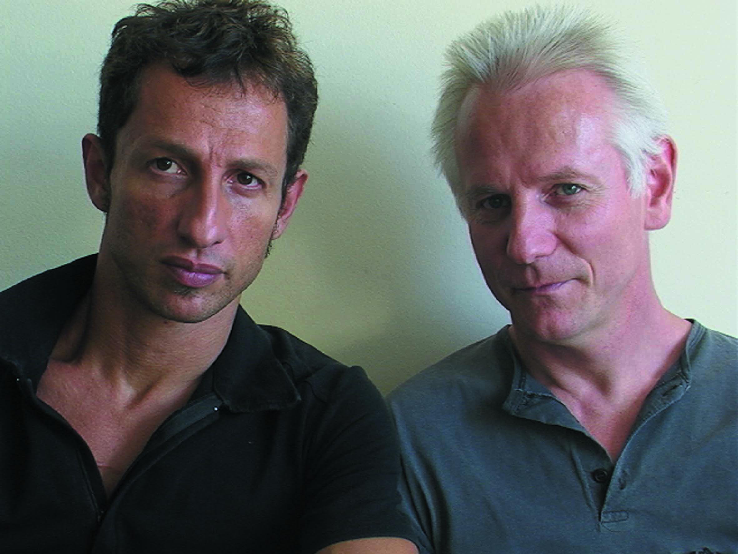Mauricio Dias e Walter Riedweg Acervo pessoal