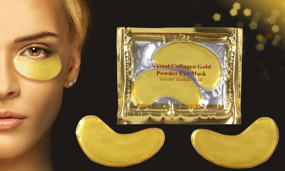 Patchs contour des yeux en or 24 carats