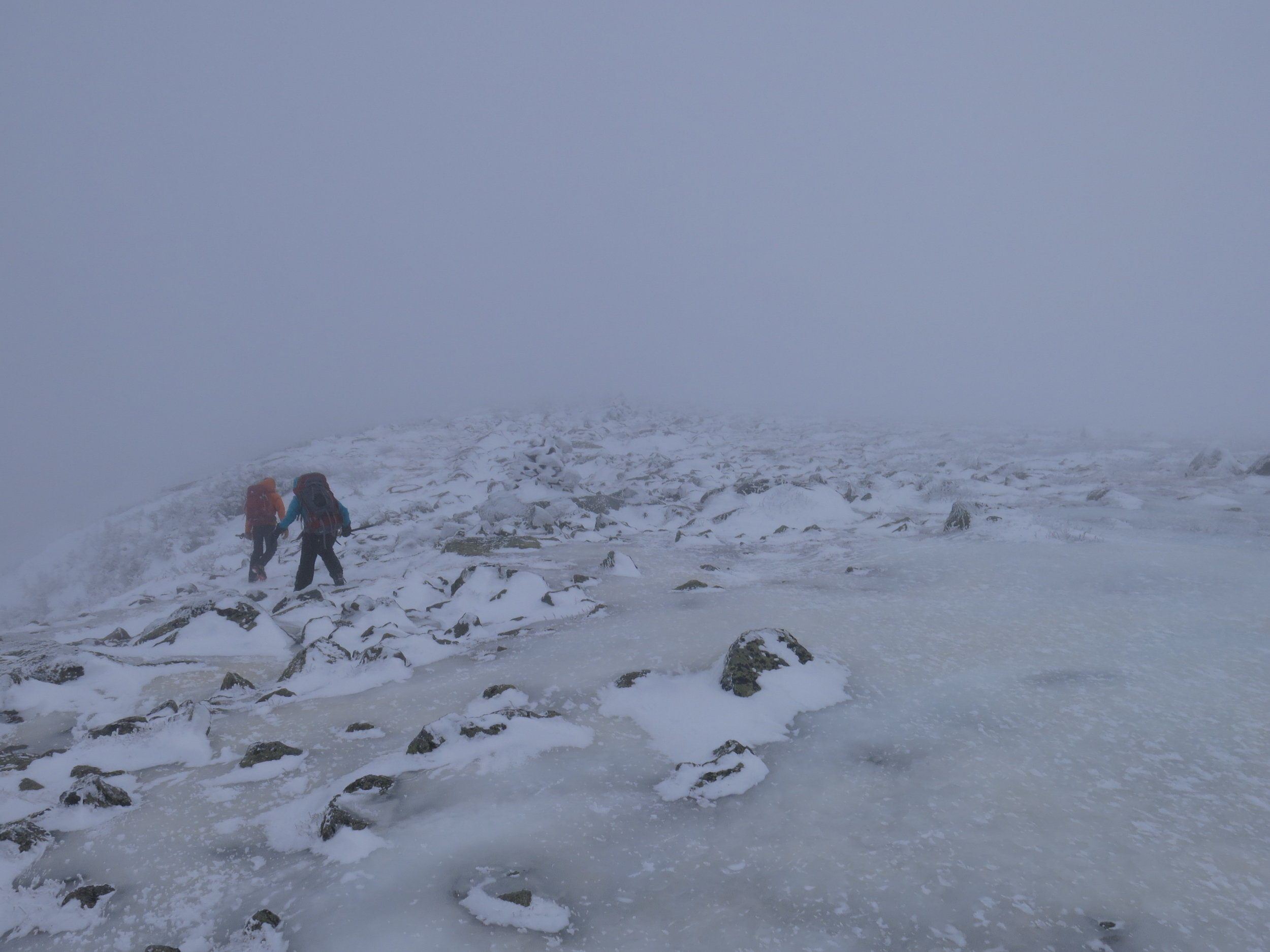 In austere environments like Mt Washington, support and kindness go a long way toward survival.