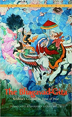 The Bhagavad Gita  Trans. William Q. Judge  A classic dialogue between warrior and Hindu god that helps shed light on the power of equanimity in your life. The warrior detests killing and the god demands fulfilled duty. A little hard to read at some points, but short and well worth the challenge!