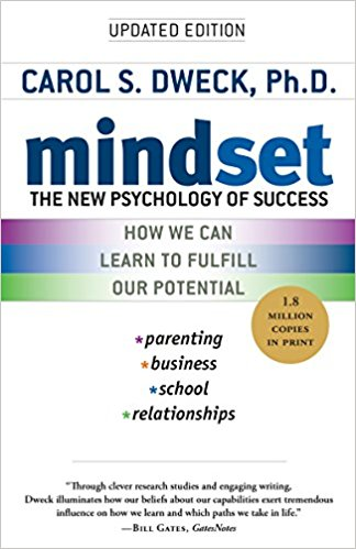Mindset: The New Psychology or Success  Carl Dweck  Why do you attempt hard things and what do you do when you fail? Dweck articulates two types of people and shows why a learning mindset may be tough at first but will lead to long term success and happiness. If you have ever let fear of failure affect your actions, this book could change your life!