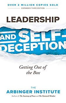 Leadership and Self Deception  The Arbinger Institute  A short and easy read, indispensible to any leader. This will challenge how you view your relation to the world and people around you, leading to happiness and more effecitve leadership. Get ready to get out of the box!