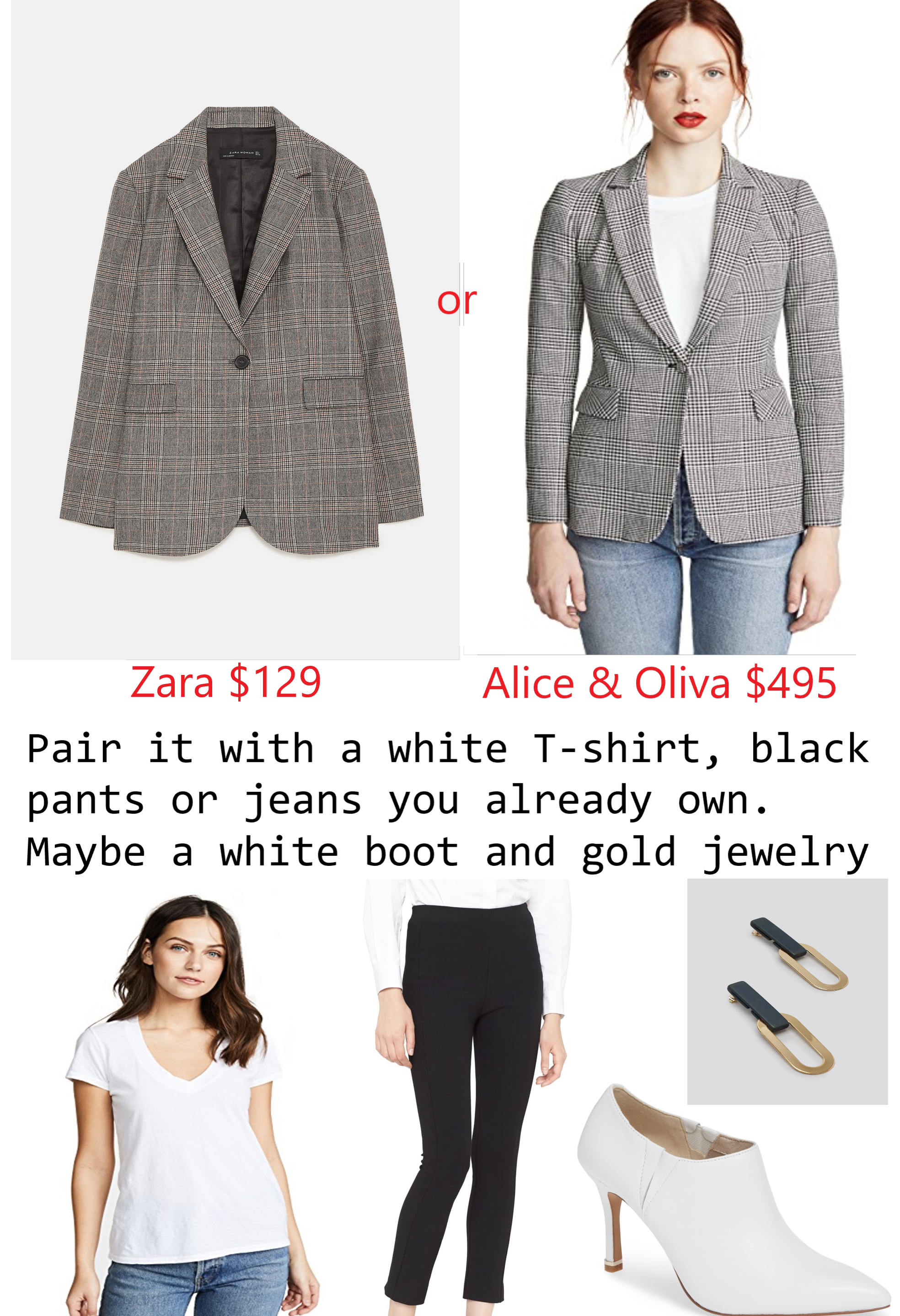 https://www.zara.com/us/en/check-blazer-p07830631.html?v1=6682552&v2=1074648    https://www.shopbop.com/macey-blazer-alice-olivia/vp/v=1/1505191822.htm?fm=search-viewall-shopbysize&os=false