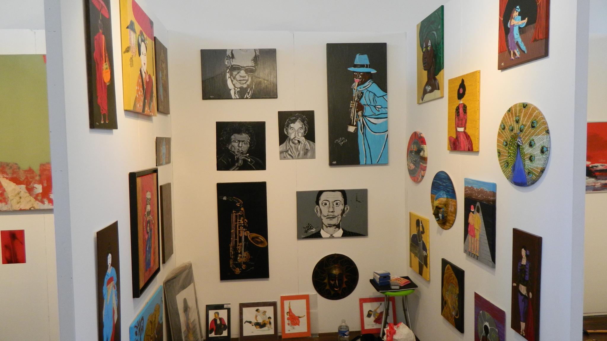 Salon d'art abordable à la Bellevilloise - Culturclub