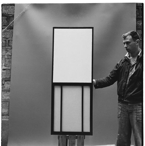 Ellsworth Kelly avec  Window Museum of Modern Art Paris , autour de 1950