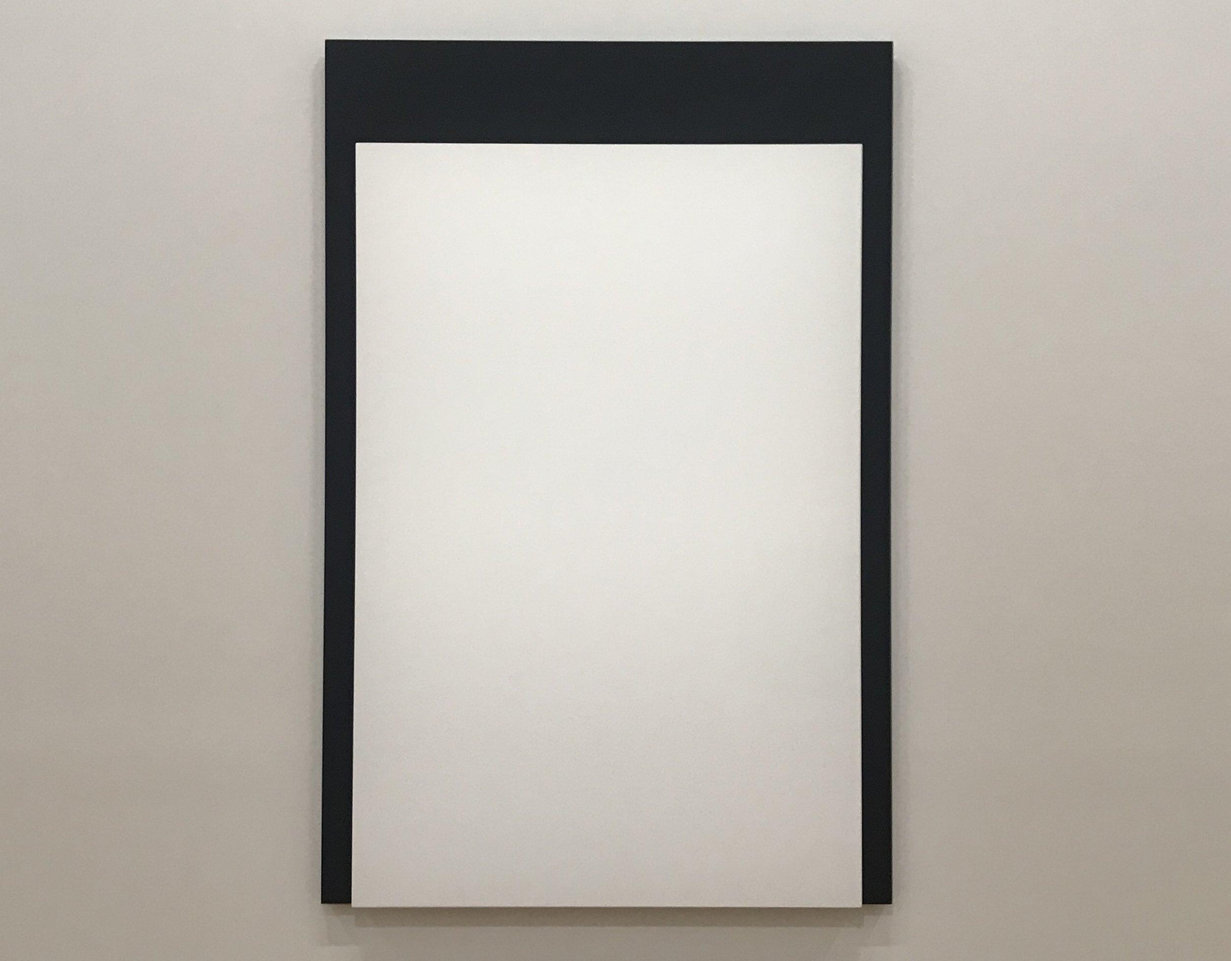 White Over Black III , 2015 - Ellsworth Kelly