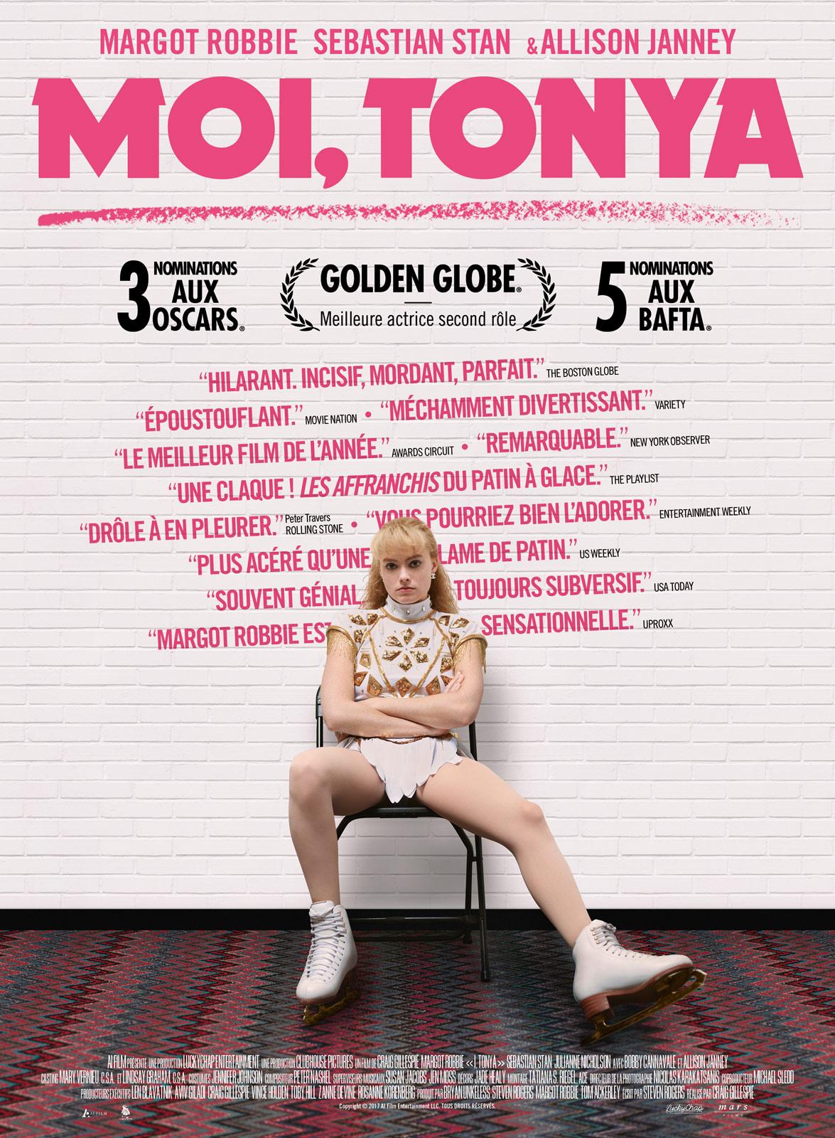 LE PLUS - L'imprégnation de Margot Robbie dans le rôle de Tonya Harding, qui nous rappelle étonnement son rôle dans Sucide Squade, mais qui nous fait encore et encore adorer l'actrice.