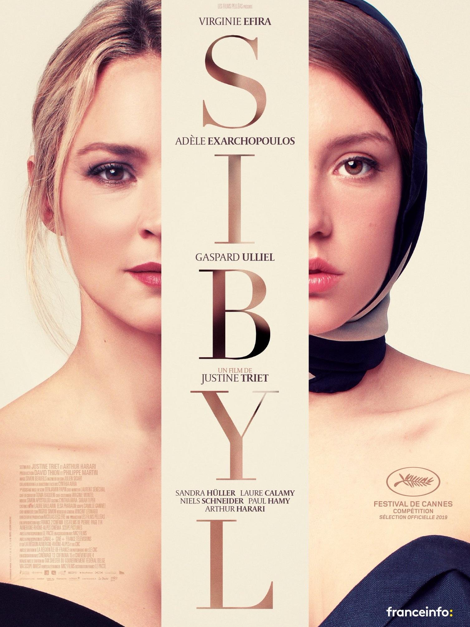 Sibyl de Justine Triet -Projection vendredi 24 mai -