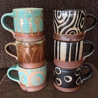 Pottery by Sarah Dudgeon