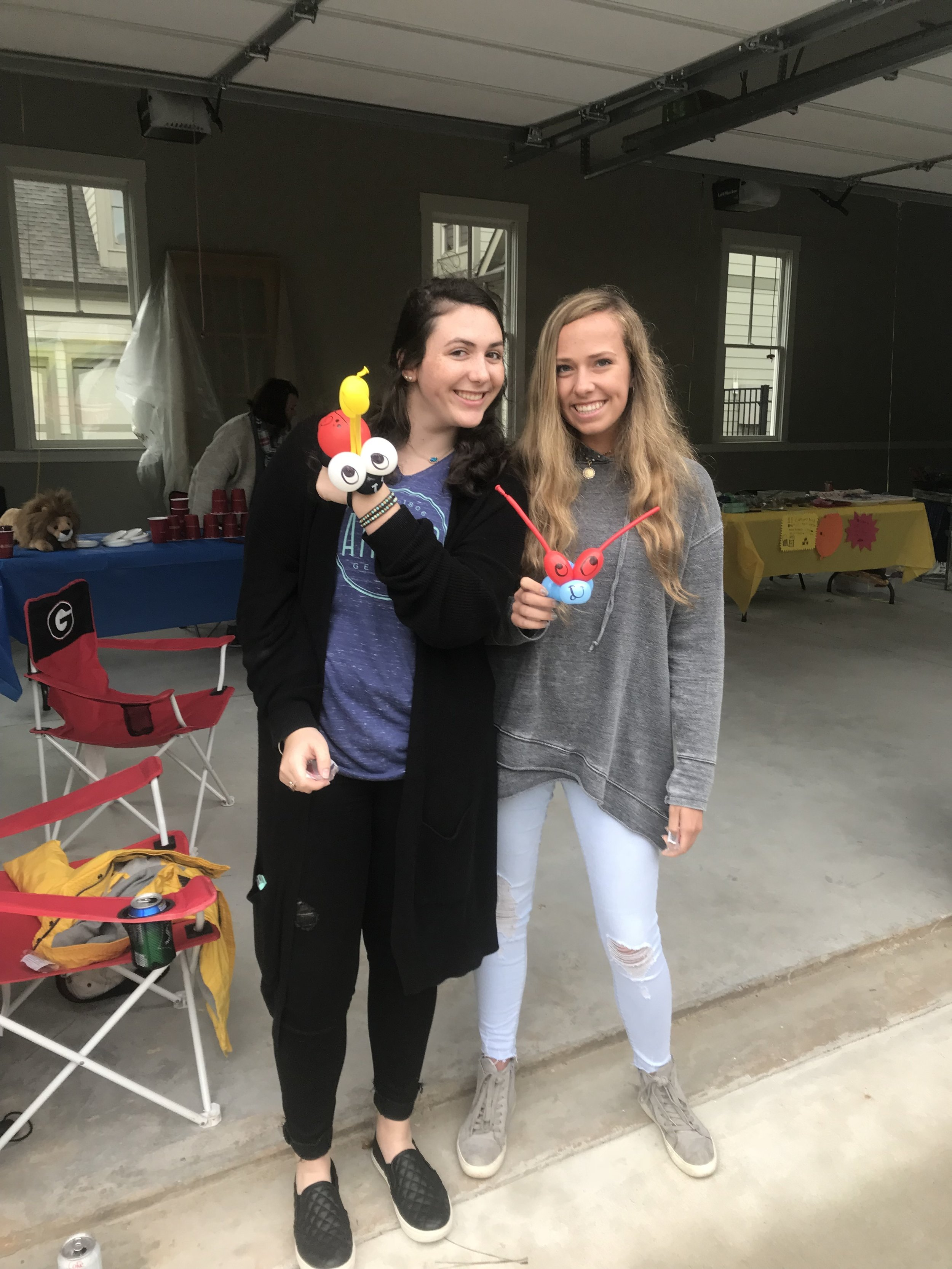Emmary and Ellie with Balloon Art.jpg