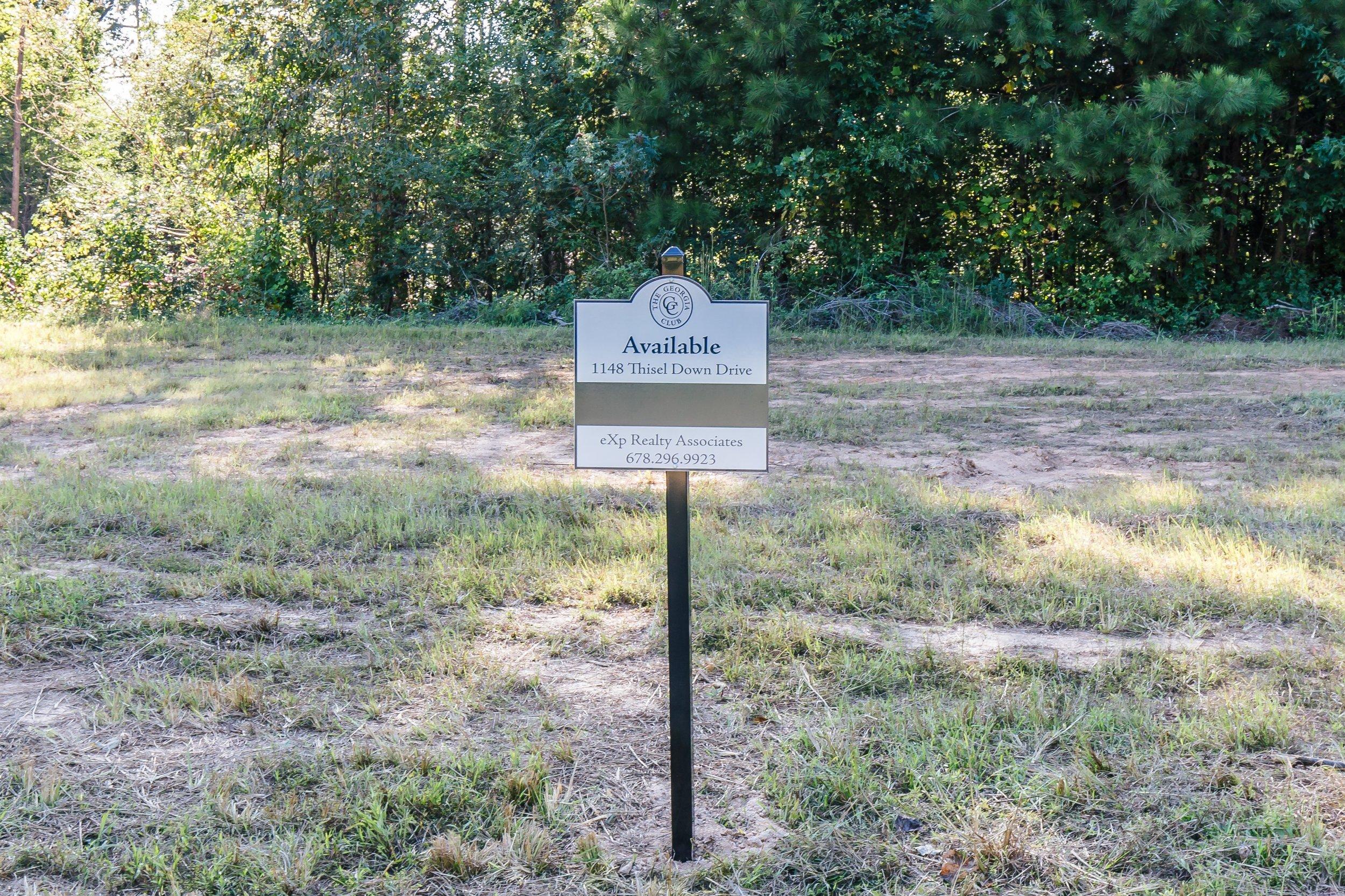Private Oconee County Estate Lot