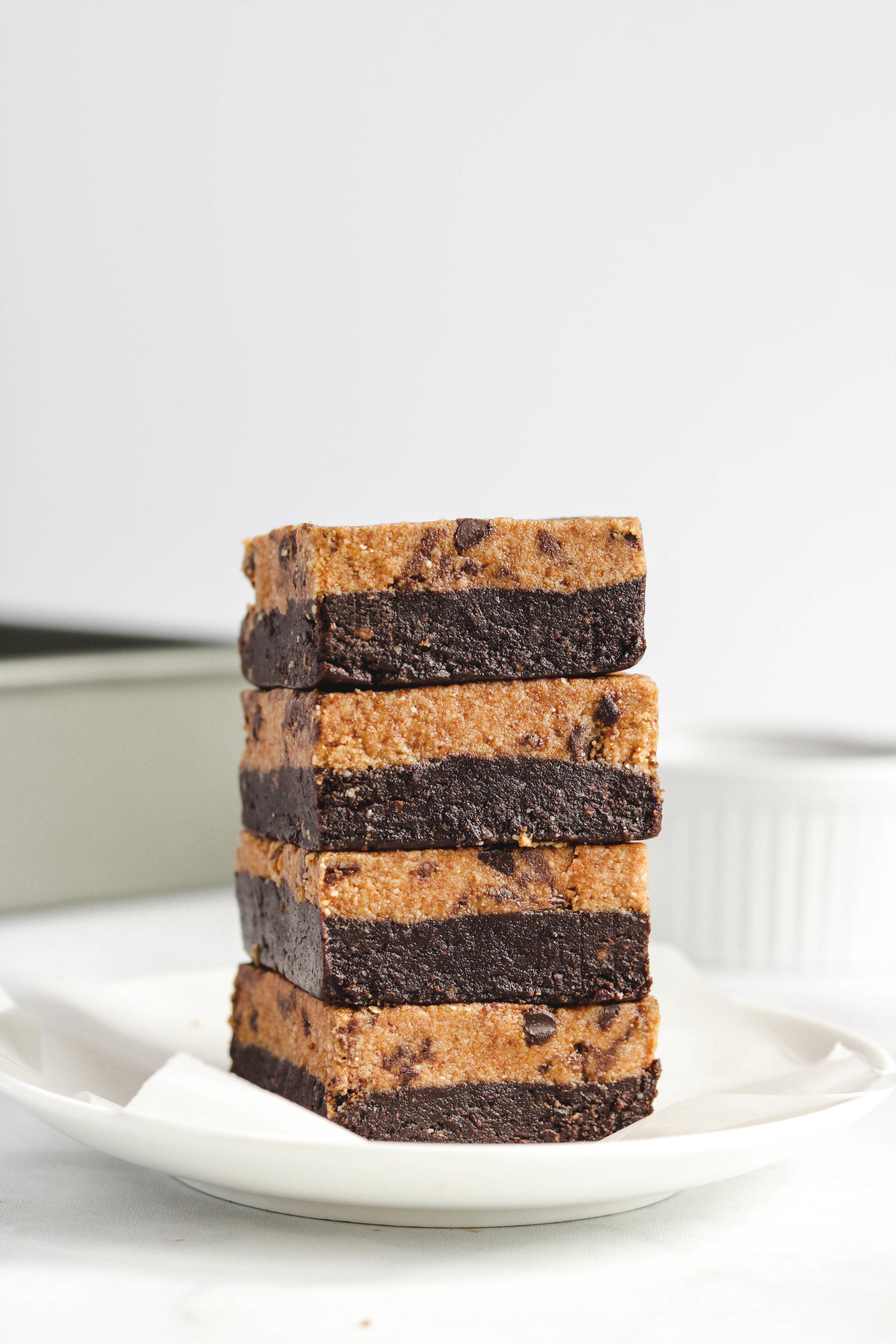 No Bake Cookie Brownies Vegan Gluten Free-8.jpg