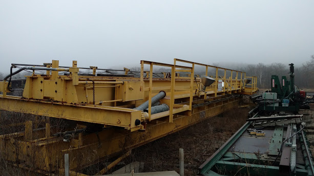 Bridge Crane - 2 each - 3 ton Shepard Nile Bridge Crane58ft Bridges$27,000 for both OR$15,000 each