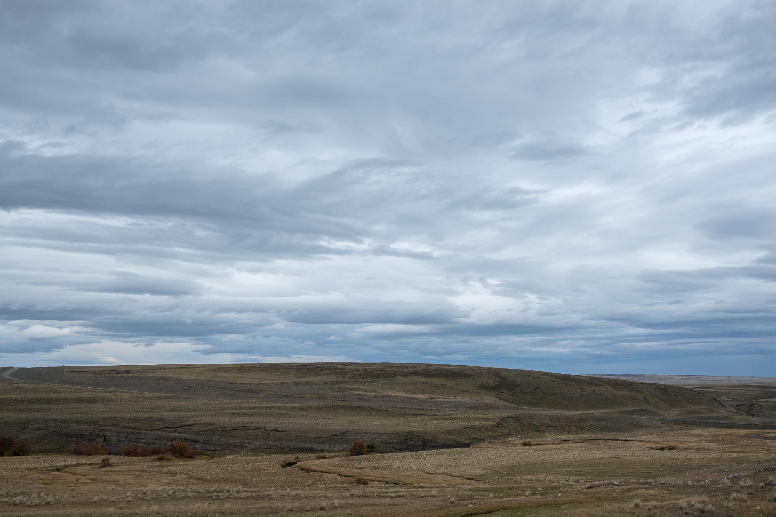 RN 40  / Patagonie, Argentine.  ©2017 Florian Zellweger