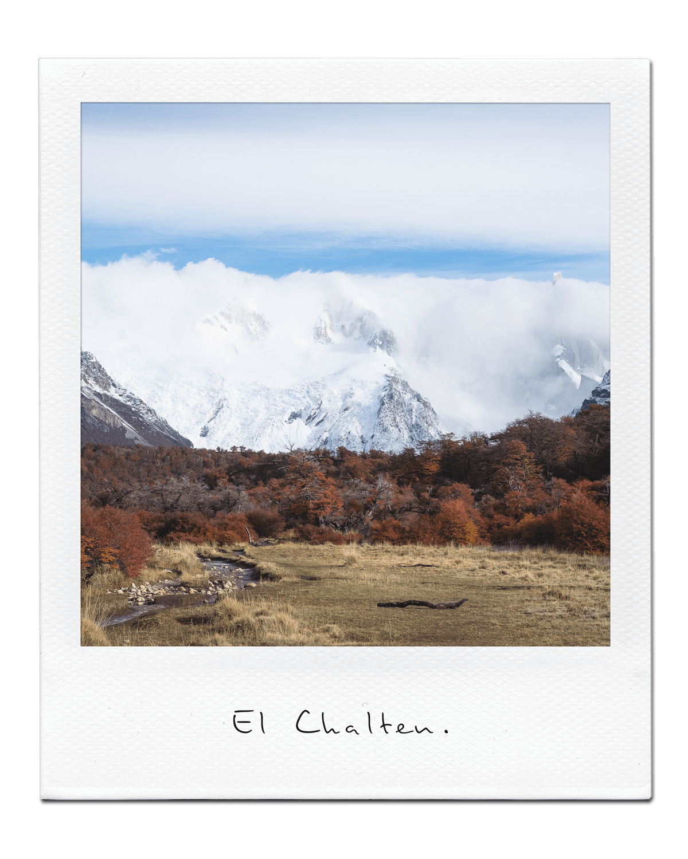El Chalten  Argentine - Avril 2017