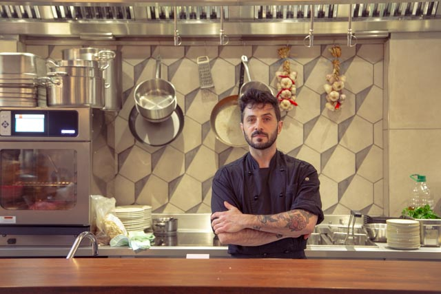 VITTORIO MELI - Head Chef at Bedales of Borough -